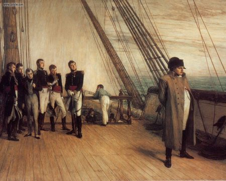 Orchardson_William_On_Board_HMS_Bellerophon_